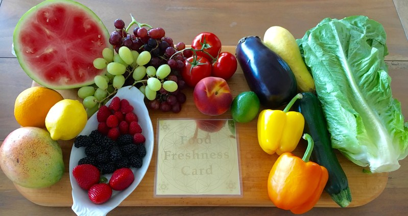 The Food Freshness Card