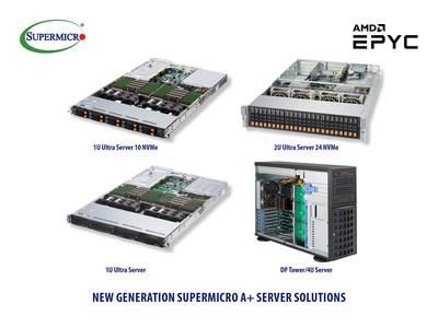 新一代美超微A+服务器解决方案支持AMD全新处理器EPYC(霄龙)