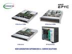 Supermicro annonce un portefeuille complet de solutions A+ Server optimisées pour les nouveaux processeurs AMD EPYC™ haute performance