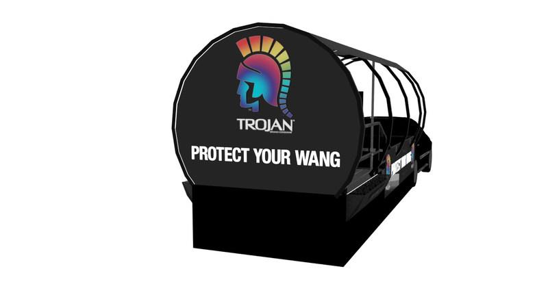 (PRNewsfoto/Trojan(TM)Brand Condoms)