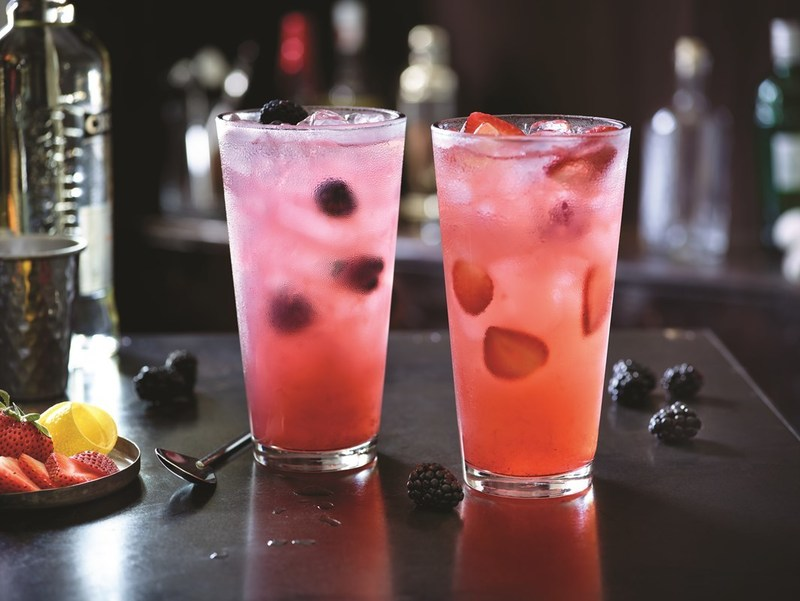 Participating Applebee's® restaurants across the country are raising funds for Alex's Lemonade Stand Foundation in a variety of ways, including donating a portion of the proceeds from lemonade sales, such as these Strawberry and Blackberry Quencher Lemonades made with real fruit.