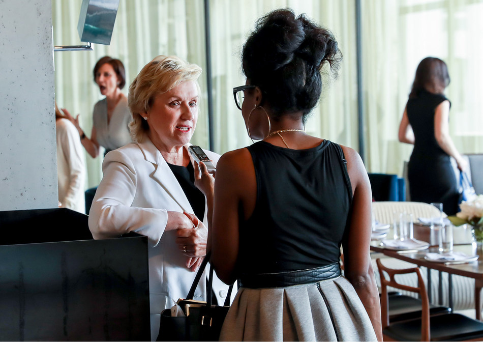 Tina Brown hosting Travelzoo's women's power lunch in New York