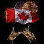 Toast to Canada's 150th with Canadian spirits! (CNW Group/Spirits Canada)