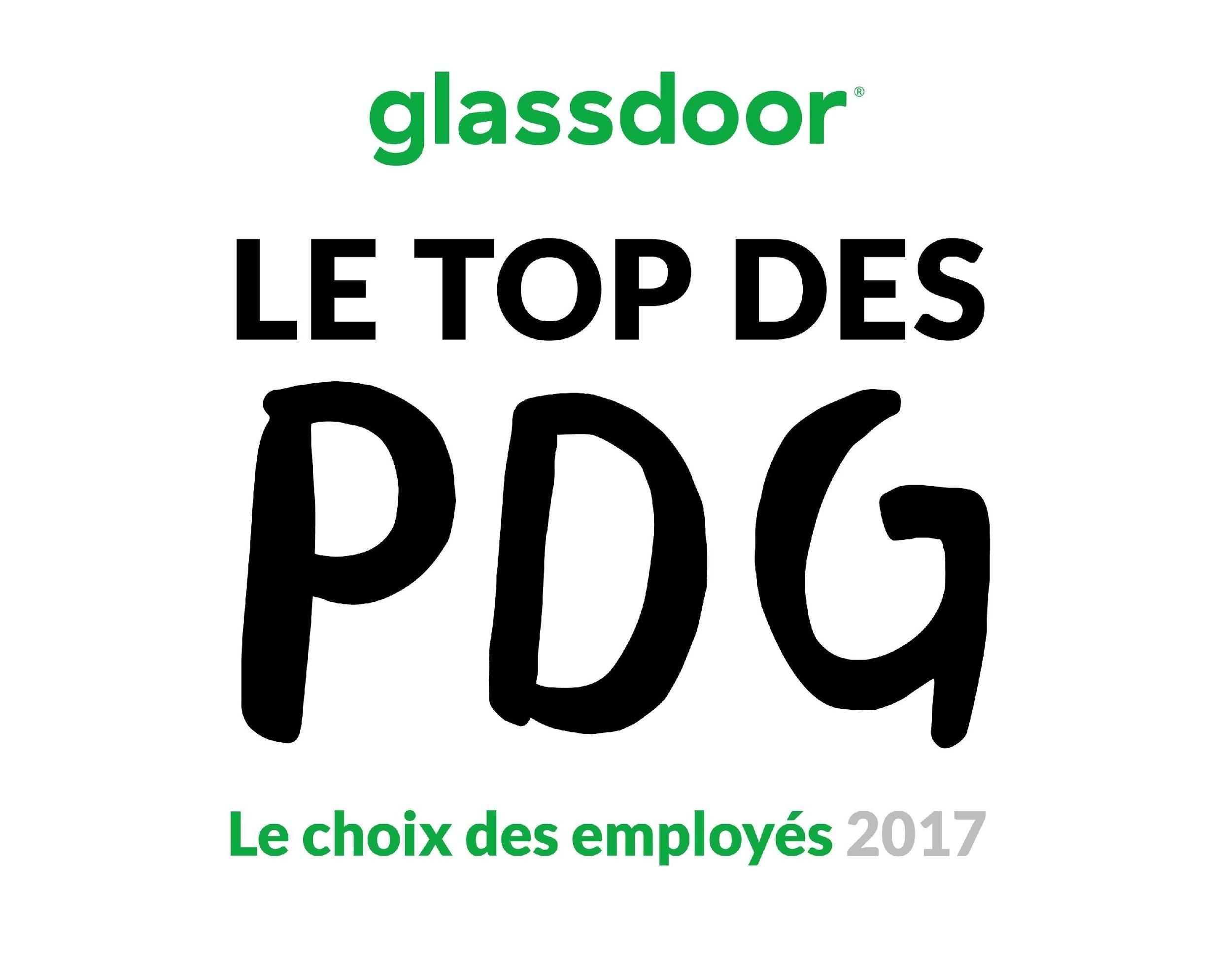 Glassdoor révèle le Top des PDG 2017 dans le cadre des ...