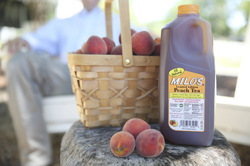 With the addition of NEW Milo's Limited Edition Peach Tea and Famous Sweet Tea in a convenient ½ gallon bottle and three New Milo's Organic Teas, it is clear that Milo's still listens to their customers.