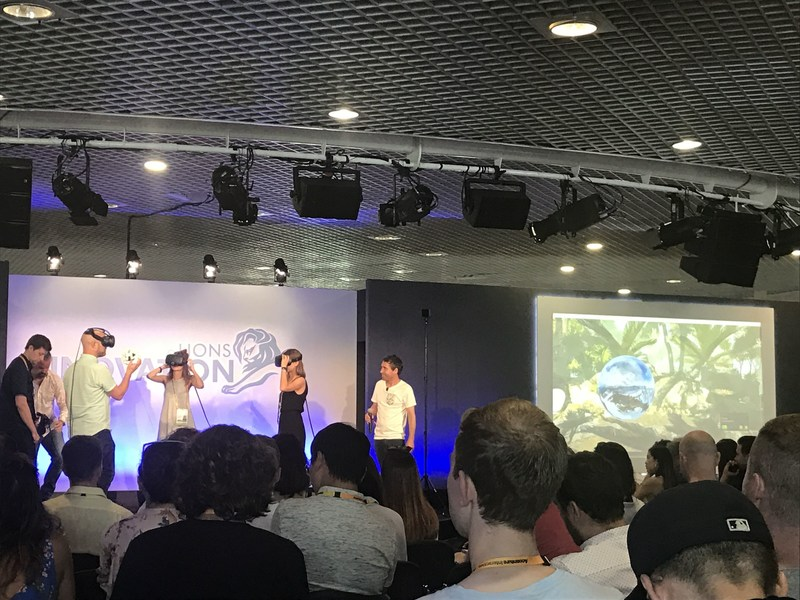 Imagination, an independent global creative agency today presented the worlds first free movement mixed reality presentation at Cannes Lions Innovation Festival 2017. Featuring Major League Baseball, HTC Vive, Hammerhead VR, and supported by hardware provider Dell the interactive seminar examined changes in brand experience and the potential effect of immersive technology.