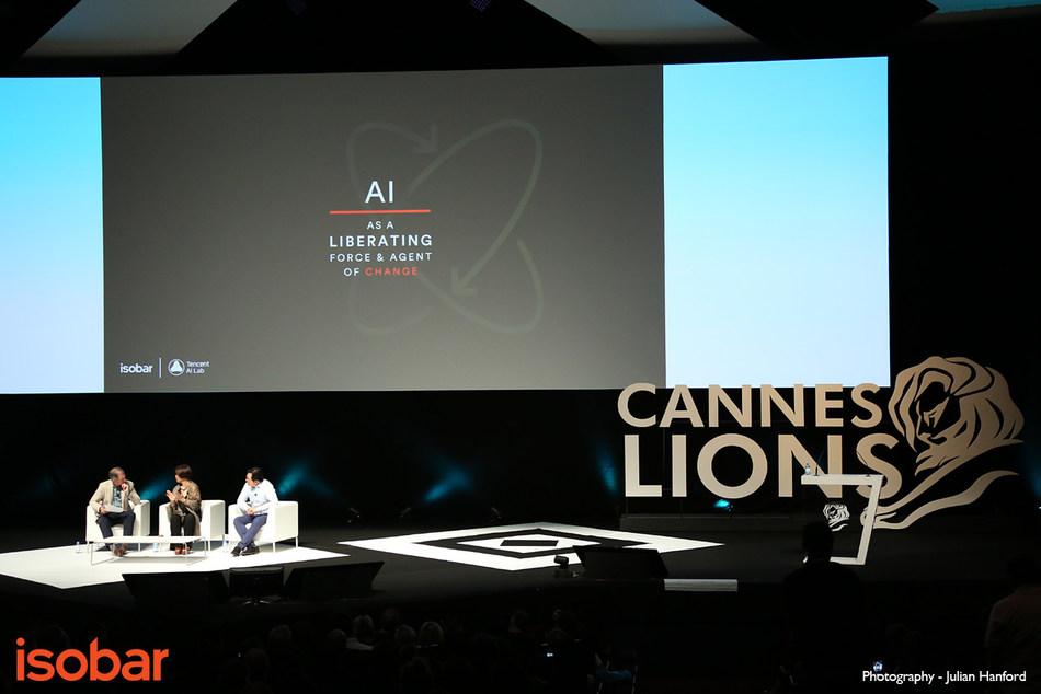 "Tencent's Cannes ""China Day"" Marks China's Transformation from Follower to Leader (PRNewsfoto/Tencent)"