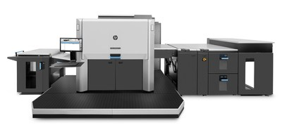 Onlineprinters has increased its printing capacity again. The online print company added an HP Indigo 12000 to its range of machines. Incorporating seven ink units, the new digital printing press is capable of representing an even larger colour space. (PRNewsfoto/Onlineprinters GmbH)