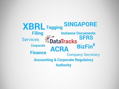 DataTracks XBRL Services for ACRA filing in Singapore (PRNewsfoto/DataTracks)