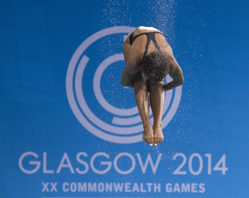 Jennifer Abel Glasgow 2014 Commonwealth Games Photo: Dan Galbraith (CNW Group/Commonwealth Games Association of Canada)