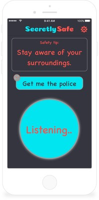 SecretlySafe Debuts as the First Personal Safety App Using Voice Recognition