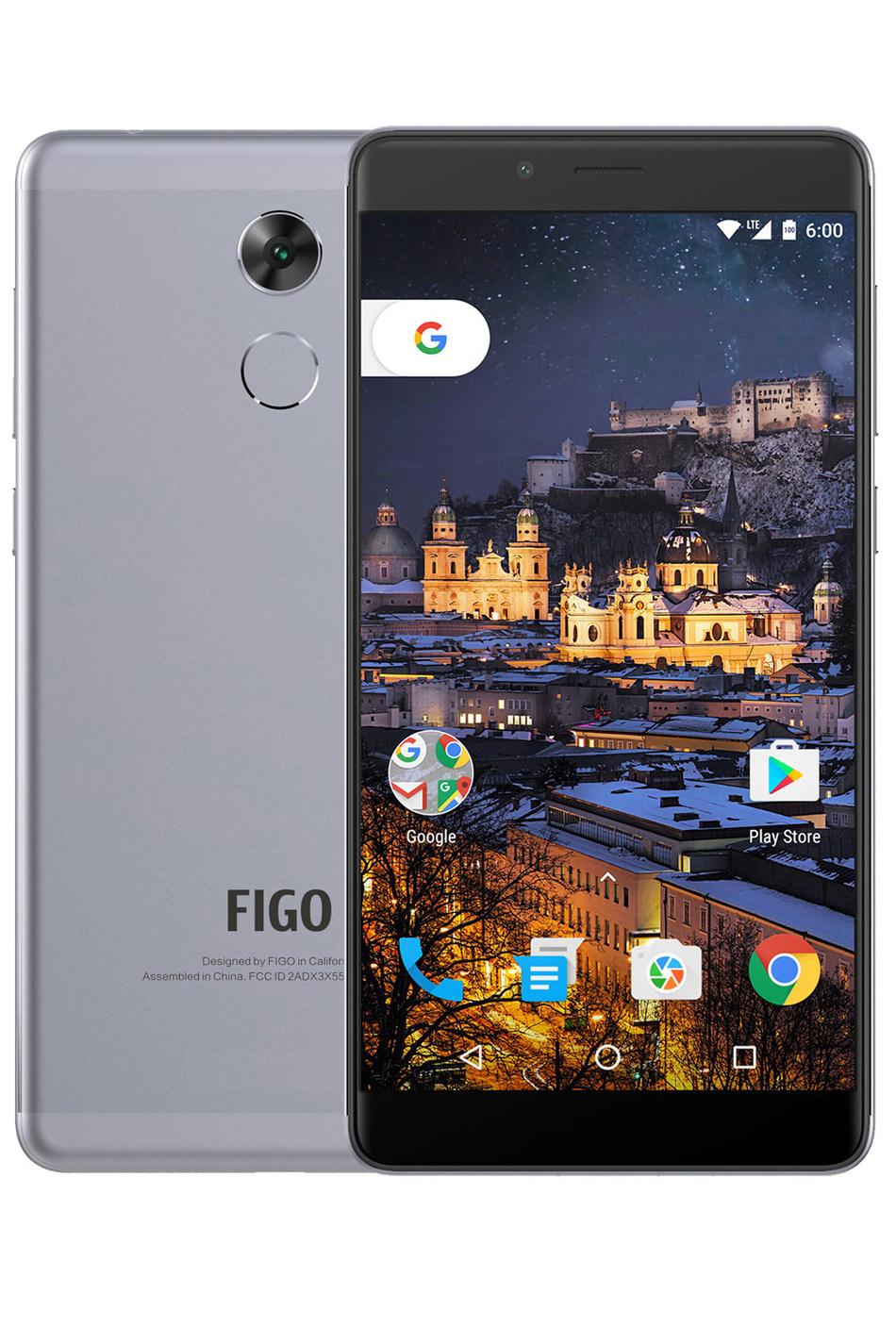 Figo Gravity - No Contract GSM Unlocked Dual Sim 4G LTE Smartphone