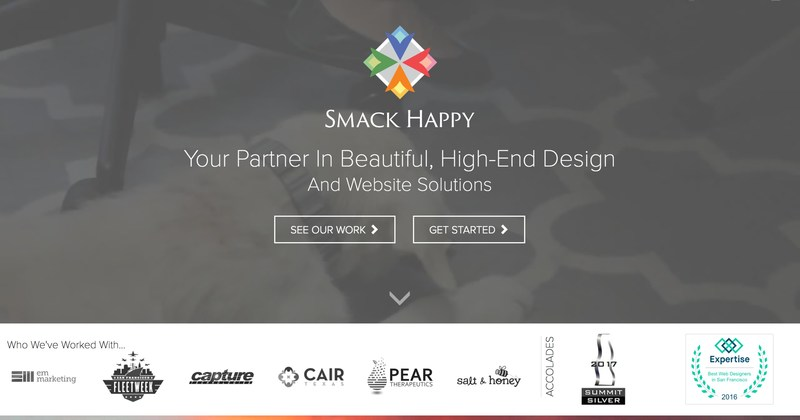 Smack Happy Design Places in Top International Award - 2017 Summit Creative Award