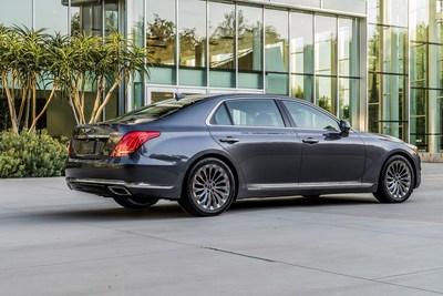 FOUNTAIN VALLEY, Calif., 21 de junio de 2017 – Genesis quedó clasificada en el nivel más alto entre los fabricantes de autos de lujo en el Estudio de Calidad Inicial de J.D. Power de 2017 - J.D. Power 2017 U.S. Initial Quality StudySM (IQS por su sigla en inglés) dado a conocer hoy. Esta fue la primera vez que la marca Genesis fue incluida en el estudio. En el segmento de lujo participaban 13 marcas. (PRNewsfoto/Genesis)