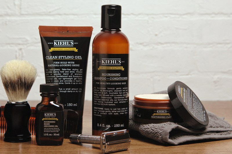 Kiehl's Since 1851 has introduced Grooming Solutions, a five-piece line offering every man the ultimate grooming regimen. Kiehl's Grooming Solutions is now available at Kiehls.com.