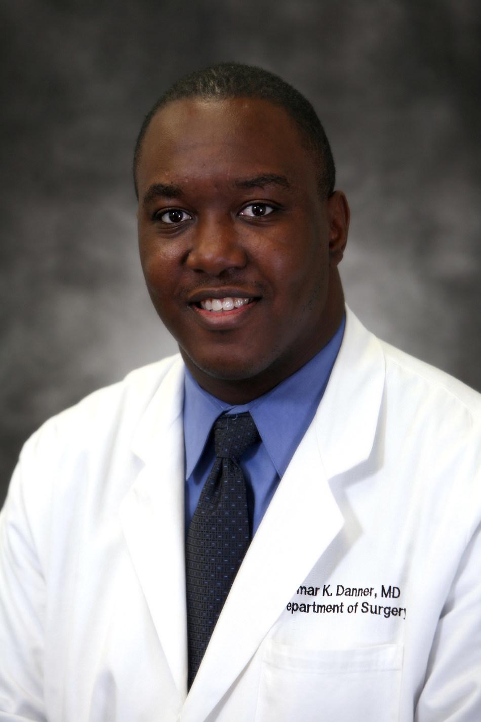 Omar Danner, M.D., FACS, associate professor and director of trauma, critical care and advanced laparoscopy for MSM at Grady Memorial Hospital in Atlanta.