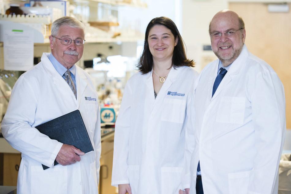 CEDAR leaders: Drs. Mike Heller, Bree Mitchell and Sadik Esener. (OHSU)