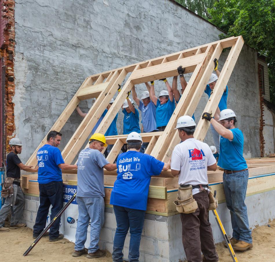 Camden Habitat for Humanity and Subaru of America build a brighter future in Camden, NJ