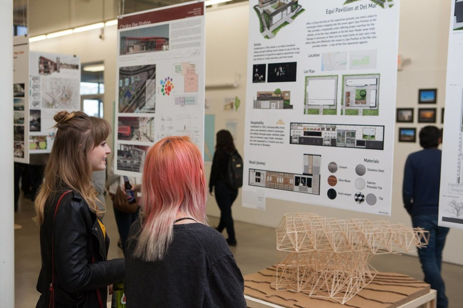The NewSchool of Architecture & Design (NewSchool), an awarded architecture and design institution located in downtown San Diego's East Village design district, will host its annual Graduate Showcase (GradShow) on June 23, 2017. More than 100 thesis projects will be on display in varying mediums. This year's projects address a variety of current events and global concerns including sustainability, immigration, and political expression, spanning across the U.S. and the globe.