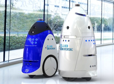 Allied Universal rolls out security robots at BOMA 2017.