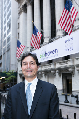 Vlad Coric M.D., Chief Executive Officer, Biohaven Pharmaceutical Holding Company. Photo Credit: NYSE