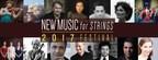 New Music for Strings 2017 Festival