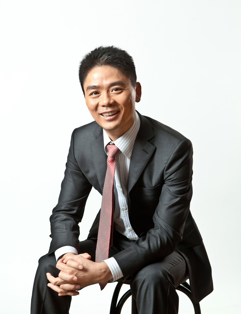 Richard Liu, Chief Executive Officer at JD.com (PRNewsfoto/Farfetch Group and JD.com, Inc.)