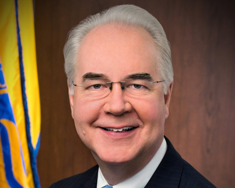 Dr. Tom Price, Secretary of Health & Human Services, will give a keynote address at the CAPG Annual Conference on Saturday, June 24, in San Diego.