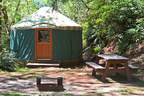 As 'Glamping' Grows in Popularity, Loon Lake Lodge Adds More Yurts