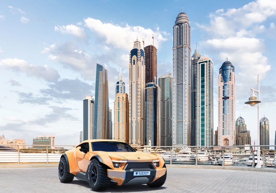 Dubai Supercar manufacturer Zarooq Motors launches limited edition SandRacer 500 GT with  interior by Mansory (PRNewsfoto/Zarooq Motors)