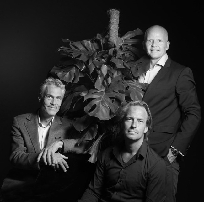 The founders of Fastbase Inc., are from left to right: Henrik Carstensen, Rasmus Refer and Allan Fenger.