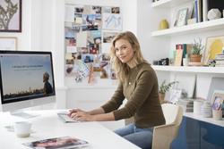 Karlie Kloss Creates a Website with Wix.com