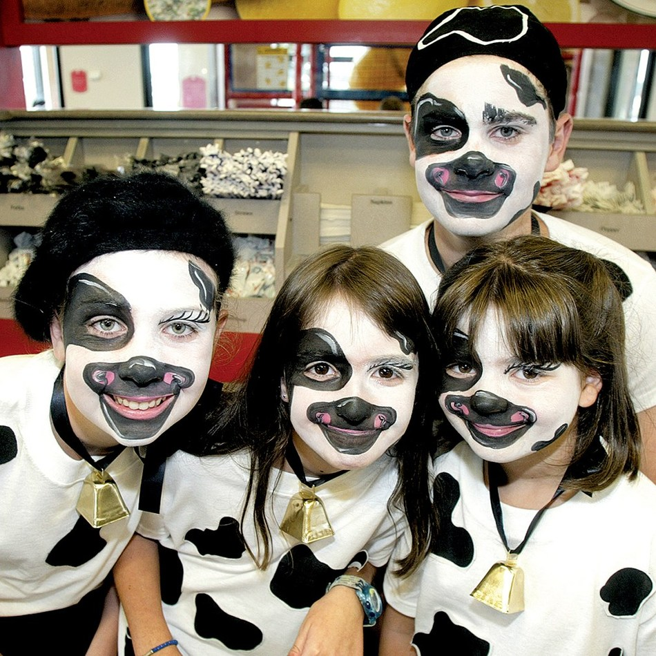 Customers who dress like a cow will receive a free entree of their choice, and children will receive a free Kid's Meal.