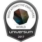 Universum Pubblica i World's Most Attractive Employer Rankings, edizione 2017