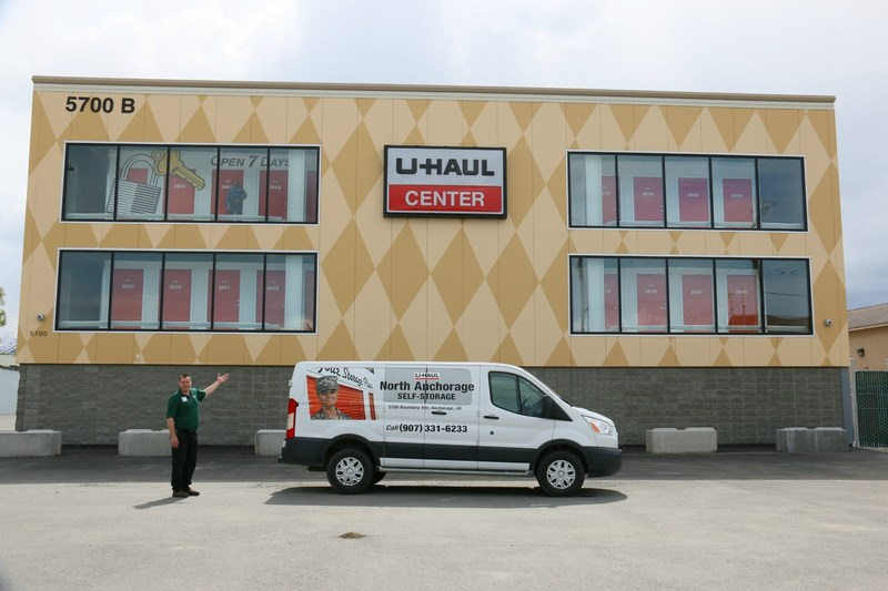 U-Haul will host a grand-opening event July 1 to showcase its contemporary three-story, 697-room indoor self-storage facility at 5700 Boundary Ave., site of the former E.A. Patson Parts and Equipment store.