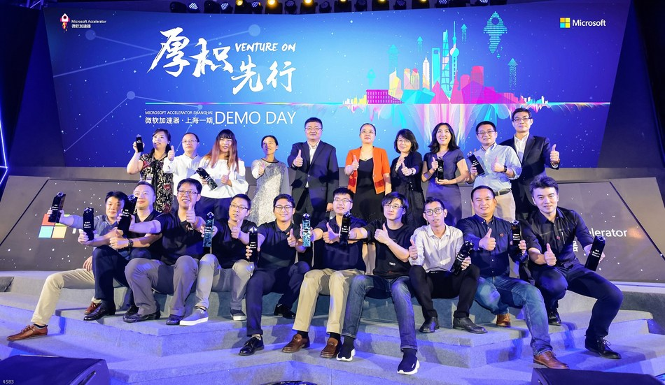 Microsoft Accelerator Shanghai tripled startups value to $1bn in 4 months