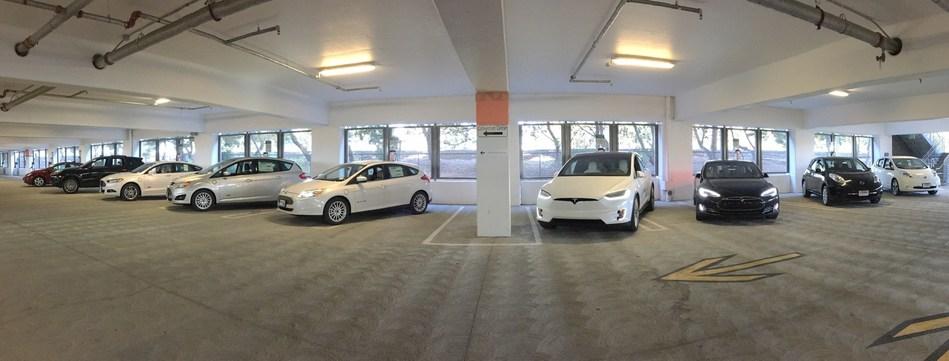 Electric Vehicle (EV) charging stations in Santa Clara