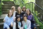 Clockwise, from left: Brittany Smith, Alisa Bristow, Chris Kay Fraser, Bree St. Arnault, Danette Relic, Jenna Tenn-Yuk, Saroo Sharda. Photo Credit: Shelley Lepp (CNW Group/Firefly Creative Writing)