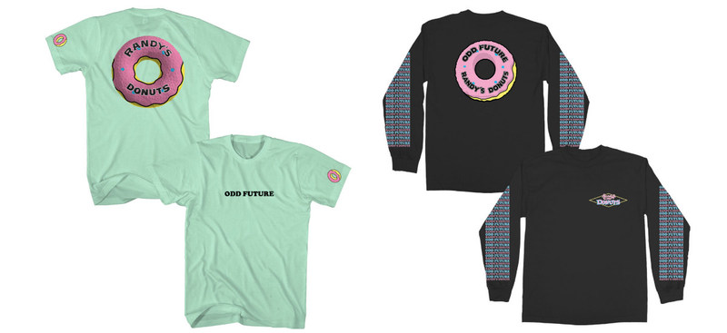 Randy's Donuts And Odd Future Strike Co-Branding Deal With Live Nation Merchandise