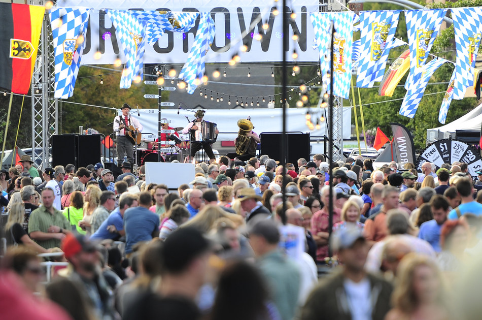 Oregrown Brings the OOMPAH to the 2016 Bend Oktoberfest. Photo by Ryan Brennecke courtesy of the Bend Bulletin.