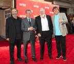 Bat Out Of Hell The Musical producers (from l-r) Michael Cohl, David Sonenberg, Tony Smith, and Randy Lennox (CNW Group/Bell Media)