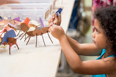 Take education beyond the classroom this summer with fun, interactive, free-choice learning at the Ontario Science Centre. The Science Centre has something to keep inquisitive minds of all ages engaged from July 1 to September 4. (CNW Group/Ontario Science Centre)