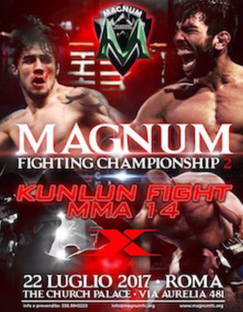 MAGNUM Fight Championship 2 - Kunlun Fight MMA 12 (PRNewsfoto/MAGNUM FC)