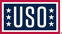 USO Logo for dark background.