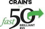 Brilliant ranks No. 21 on the 2017 Crain's Chicago Business Fast 50. This is the third consecutive year Brilliant has made the list. Learn more at www.brilliantfs.com.