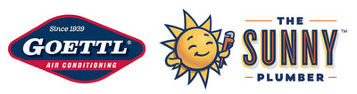 Goettl Air Conditioning and Sunny Plumber Logos