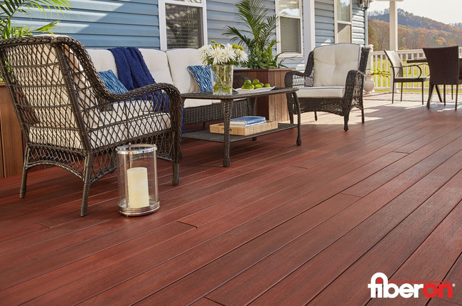 Fiberon Symmetry Decking - Cinnabar