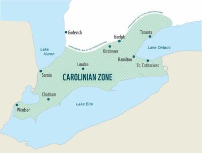 The Carolinian Zone (CNW Group/WWF-Canada)