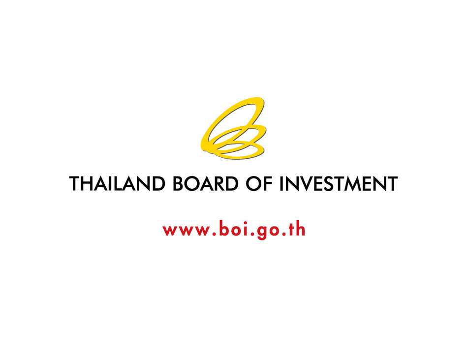Thailand Board of Investment (BOI) Logo (PRNewsfoto/Thailand Board of Investment)