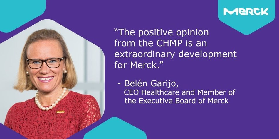 Belen Garijo, CEO Healthcare and Member of the Executive Board, Merck. (PRNewsfoto/Merck)
